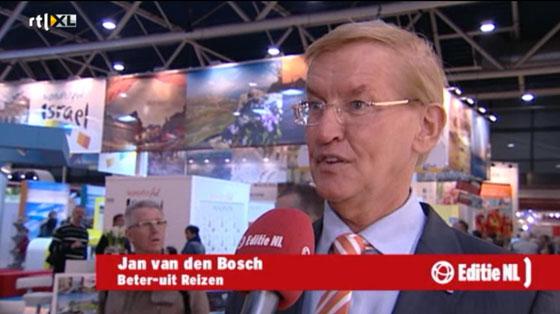 Johannes van den bosch sends an email