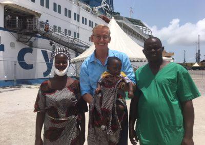 Mercy Ships Benin, Afrika