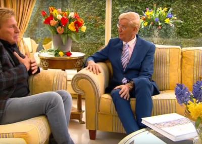 TV interview Henny Huisman