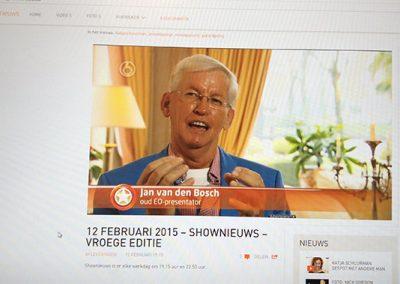 Shownieuws SBS 6: (uitzending donderdag 12 februari)