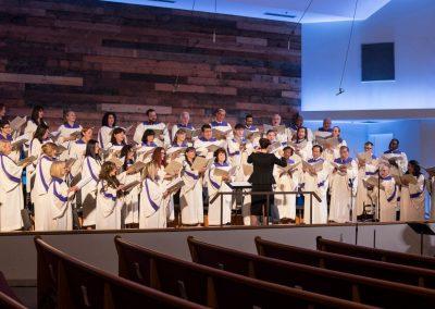 Zingen in het koor van Hour of Power
